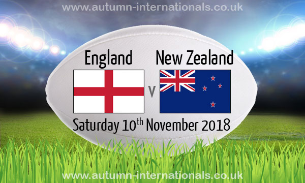 Image result for England vs New Zealand Rugby Friendly Match 2018 Live pic logo