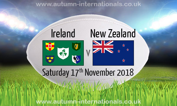 Image result for Ireland vs New Zealand Rugby Friendly Match 2018 Live pic logo