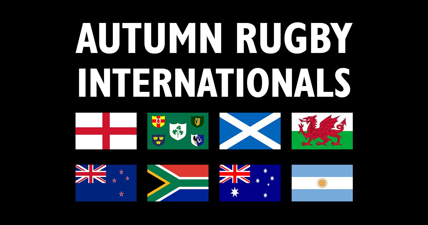 218f5093351 Autumn Internationals 2018 Rugby Fixtures