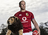 Alun Wyn Jones will captain the Lions on their tour of South Africa