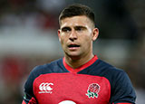 Ben Youngs in action for England v Italy in World Cup warm up