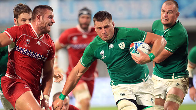 CJ Stander leads the way in terms of carries among the quarter final teams