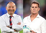 Eddie Jones and Rassie Erasmus