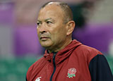 Eddie Jones at England captain's run before World Cup quarter final