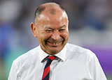 Eddie Jones at England v New Zealand World Cup semi final