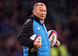 Eddie Jones at England v New Zealand match