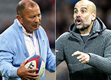 Eddie Jones is a big fan of Pep Guardiola