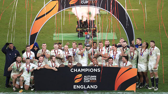 England lift Autumn Nations Cup after beating France in final