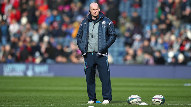 Gregor Townsend during 2019 Six Nations