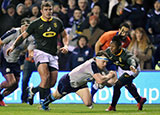 Hamish Watson scores a try for Scotland v South Africa