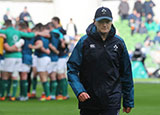 Joe Schmidt before the Ireland v France match in 2019 Six Nations