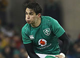 Joey Carbery in action for Ireland v England in 2019 Six Nations