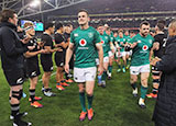 Jonathan Sexton and Ireland after victory over New Zealand in Dublin
