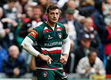 Jonny May playing for Leicester