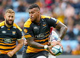 Nathan Hughes playing for Wasps