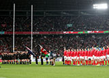 New Zealand and Wales line up at 2019 Rugby World Cup