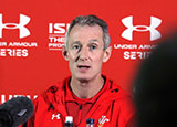 Rob Howley at Wales press conference