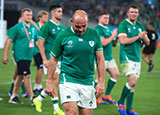 Rory Best after Ireland's defeat to New Zealand in World Cup