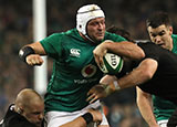 Rory Best in action for Ireland v New Zealand during 2018 autumn internationals