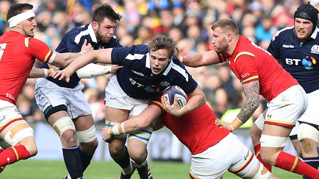 Scotland take on Wales during 2017 Six Nations