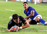 Sean Maitland scores a try for Scotland v Samoa at World Cup