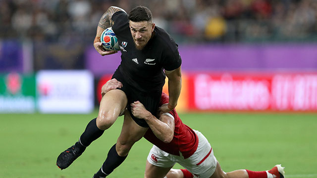 Sonny Bill Williams in action for New Zealand v Canada at World Cup
