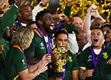 South Africa won the 2019 Rugby World Cup