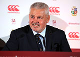 Warren Gatland at British and Irish Lions Head Coach Announcement